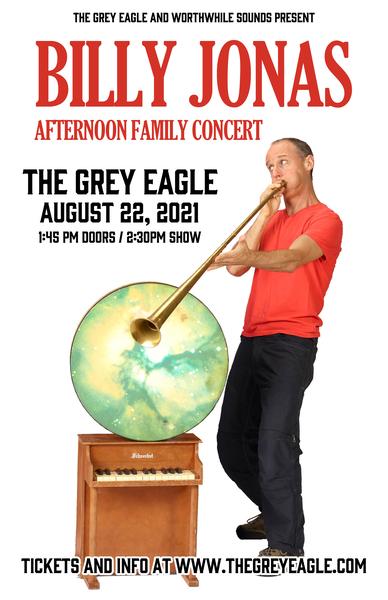 BILLY JONAS COMES TO GREY EAGLE 82221