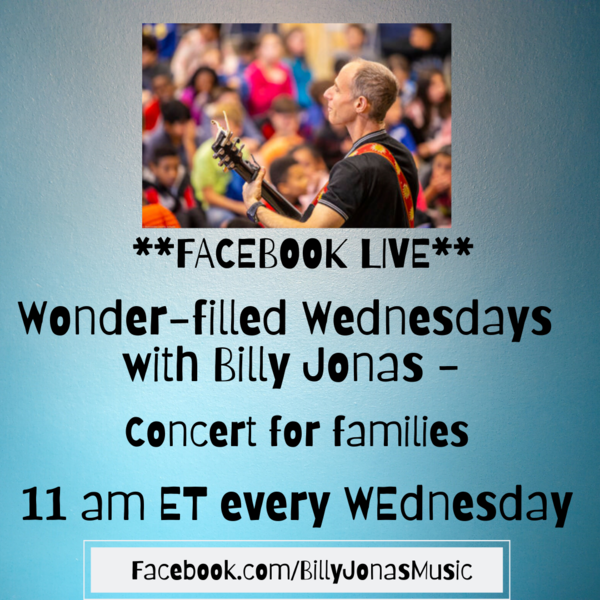 Wonderfilled Wednesdays and Make Something Mondays  FACEBOOK LIVE events Please join us
