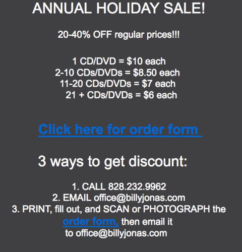 LAST DAY OF HOLIDAY SALE 2 CDsDVDs are only 850 and less