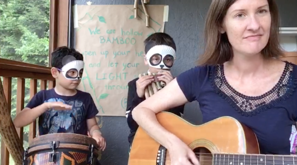 FUN VIDEO from a Local Teacher singing quotHollow Bambooquot with her boys Wonderfilled Wednesdays and Make Something Mondays  FACEBOOK LIVE events Please join us